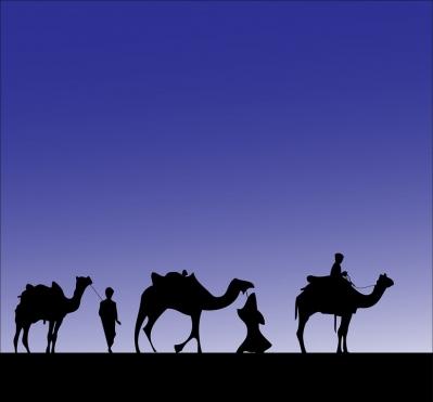Llegada de los Reyes Magos de Oriente (Xert)
