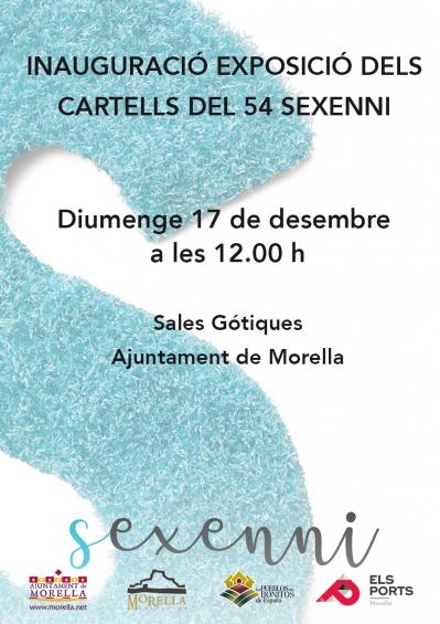 Exposición carteles del 54 Sexenni (Morella)