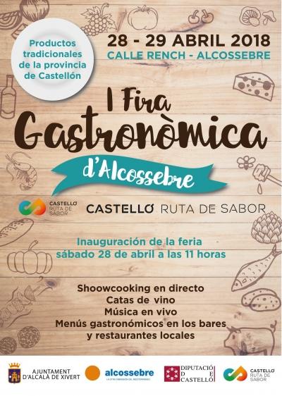 I Fira Gastronómica d'Alcossebre Castelló Ruta de Sabor