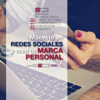 Muévete en Redes Sociales y crea tu marca personal - Vall d'Uixó