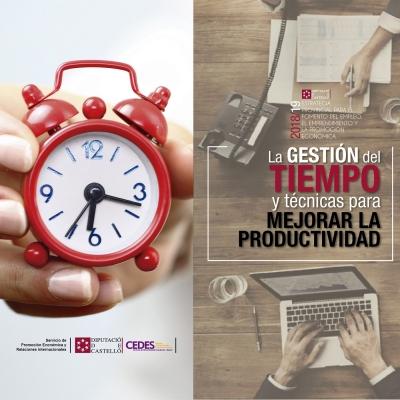 Gestión del tiempo y técnicas para mejorar la productividad - Albocácer