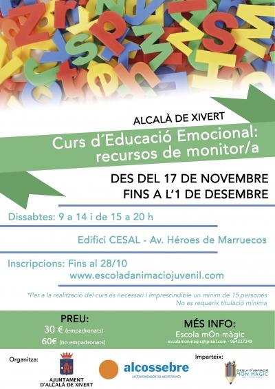 """Curso """"Educación emocional: recursos para monitor/a"""""""