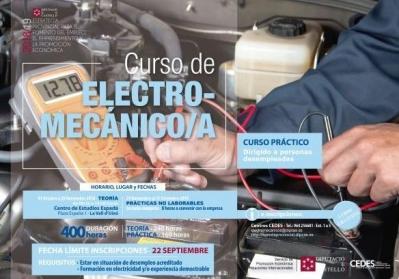 CURSO DE ELECTROMECÁNICO/A
