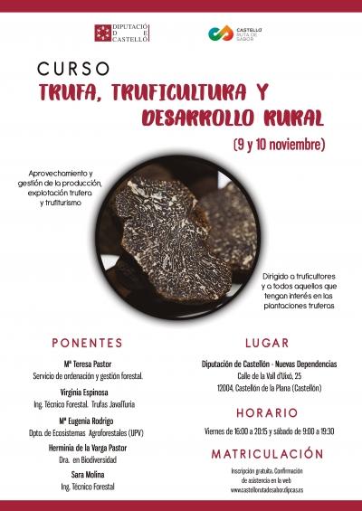 CURSO TRUFA, TRUFICULTURA Y DESARROLLO RURAL