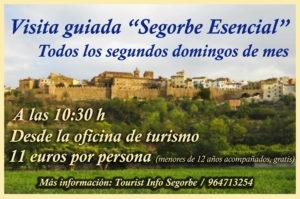 "VISITAS GUIADAS ""SEGORBE ESENCIAL"""
