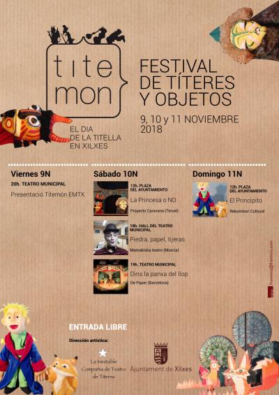 TITEMÓN, FESTIVAL DE TÍTERES Y OBJETOS