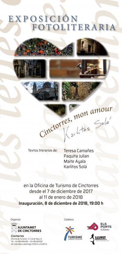 "Exposición Fotoliteraria: ""Cinctorres, Mon Amour"""