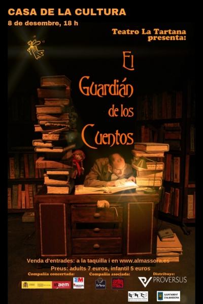 """Teatro en Almassora: """"El guardián de los cuentos"""""""