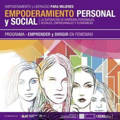 Empoderamiento personal y Social - Emprender y Dirigir en Femenino - Vall d'Alba