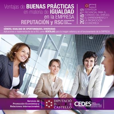 Ventajas Buenas Prácticas en materia de Igualdad Empresarial. Reputación y RSC - Vall d'Alba