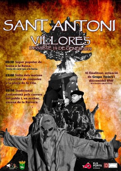 Santantonà 2019 (Villores)
