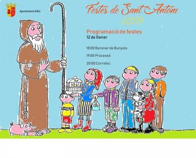 """FIESTAS DE """"SANT ANTONI"""" (AÍN)"""
