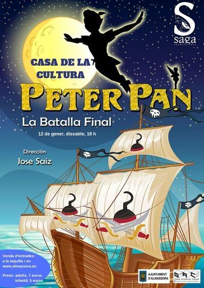 """Musical: """"Peter Pan: La batalla final"""""""