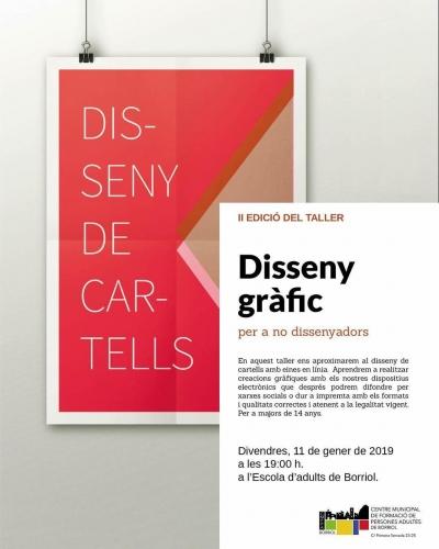 II EDICIÓ DEL TALLER DE DISSENY GRÀFIC