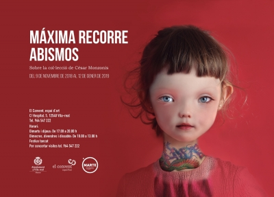 """EXPOSICIÓN """"MAXIMA RECORRE ABISMOS"""", CÉSAR MONZONIS"""