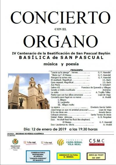 Concert amb l'orgue