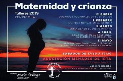 Talleres de Maternidad y crianza 2019