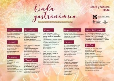 ONDA GASTRONÒMICA, JORNADES DE CULTURA GASTRONÒMICA, 2019