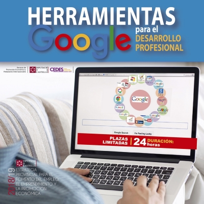 Herramientas Google para el Desarrollo Profesional