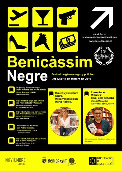 Benicàssim Negra: Programación