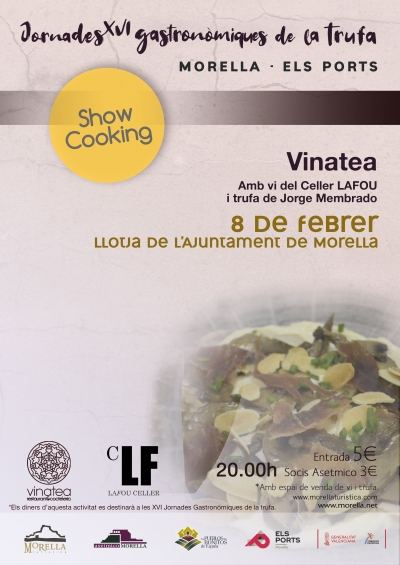 Show cooking Vinatea