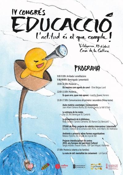 """IV Congreso de EducAcción: """"La actitud es lo que cuenta!"""""""