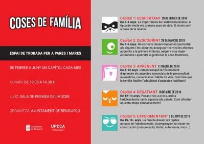 Programa per a pares i mares: «Coses de família»