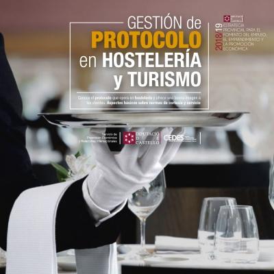 Gestión del protocolo en Hostelería y Turismo - Almazora