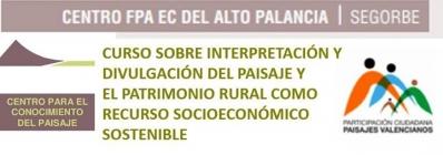 CURSO INTERPRETACIÓN Y DIVULGACIÓN DEL PAISAJE Y EL PATRIMONIO RURAL