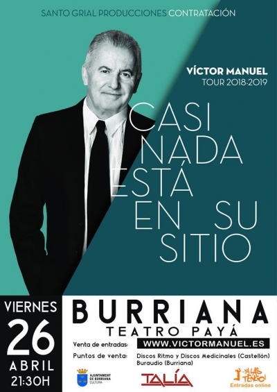 Concierto de Víctor Manuel