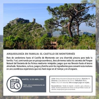 Arqueología en familia: El Castillo de Montornés