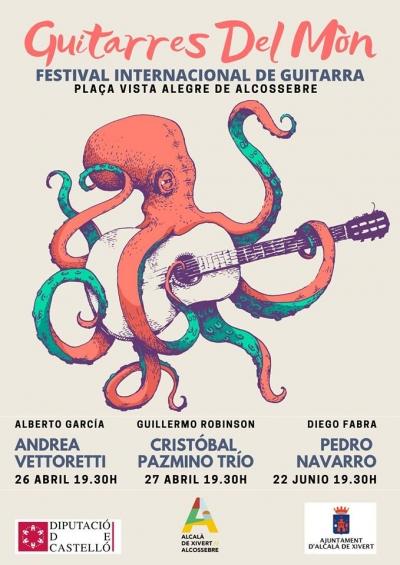 """Festival Internacional de Guitarra """"Guitarres del Mòn"""""""