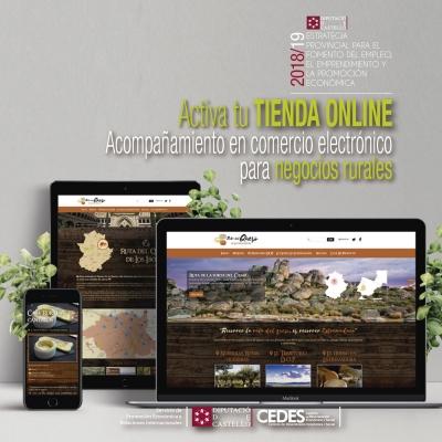Activa tu TIENDA Online. Acompañamiento en comercio electrónico para Negocios Rurales