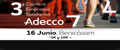 III Carrera de les Empreses Solidàries ADECCO
