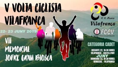 V Volta Ciclista Vilafranca – VII Memorial Jofre Grau Biosca 2019