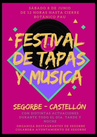 I Festival de Tapas y Música de Segorbe.