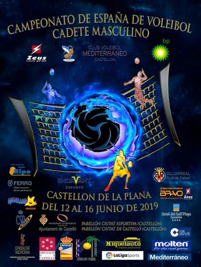 Campionat d'Espanya de Voleibol Cadet Masculí a Castelló de la Plana
