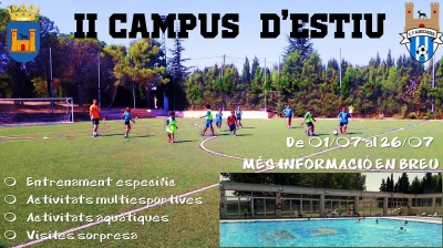II Campus de fútbol de verano en Albocàsser