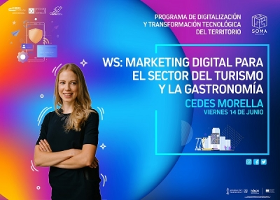 WS: Marketing digital para el sector del turismo y la gastronomía