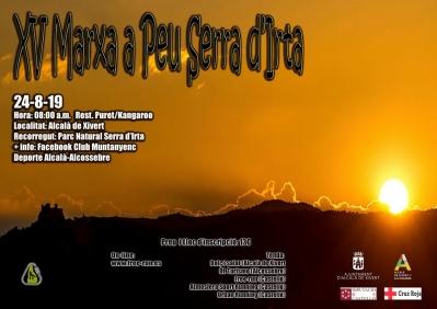 XV Marxa a peu Sierra de Irta.