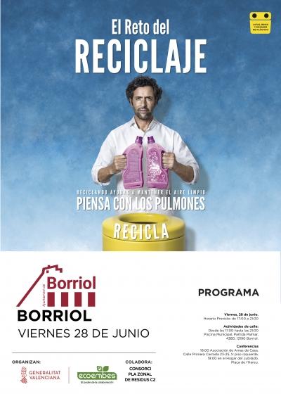 El Reto del Reciclaje, Borriol.