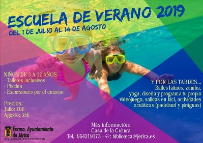 Escola d'Estiu 2019, Xèrica