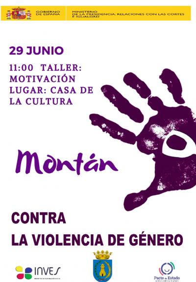 Taller Motivació Contra la Violència de Gènere a Montán