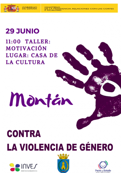 Taller Motivación Contra la Violencia de Género en Montán