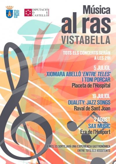 Música al ras a Vistabella