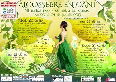Festival Líric i de Música de Cambra Alcossebre En-Cant.
