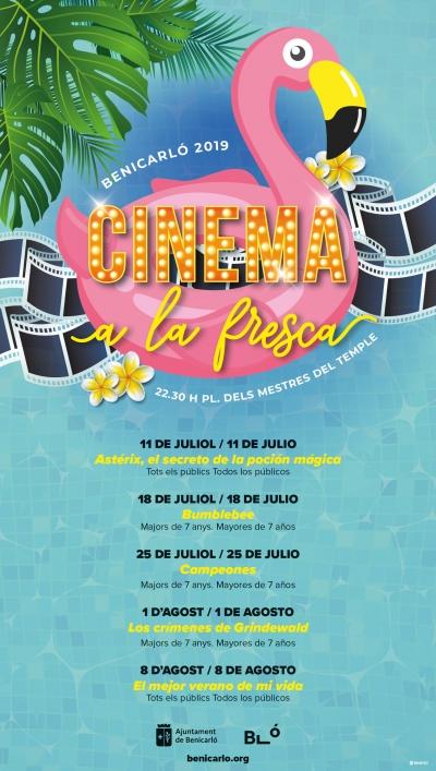 Cinema a la fresca, Benicarló.