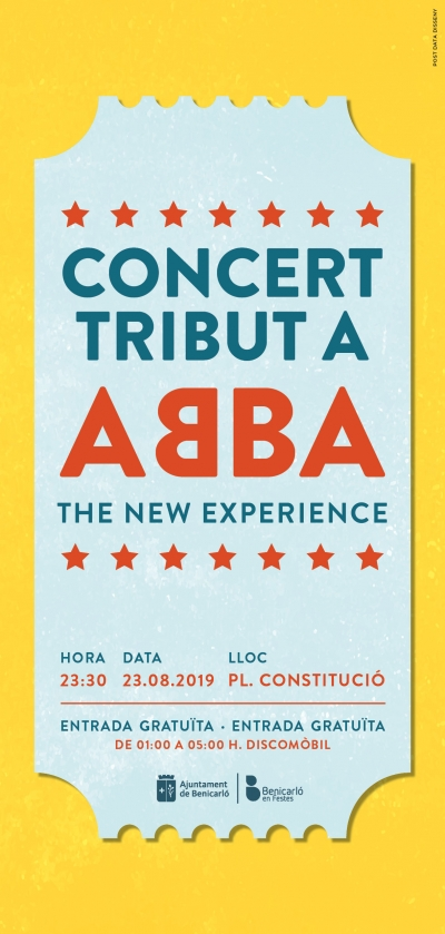 Concerte tribut ABBA, Benicarló.