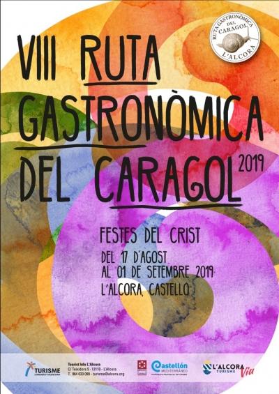 VIII RUTA GASTRONÓMICA DEL CARACOL 2019, L'ALCORA.