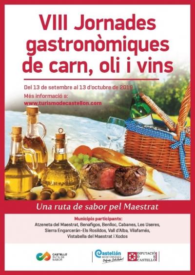 VIII Jornades gastronòmiques de carn, oliva i vins